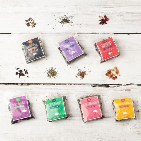 7 Loose Leaf Tea Gift Set with Tea Infuser